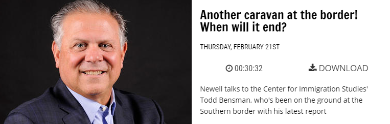Bensman on the Newell Norman show WWL Radio New Orleans
